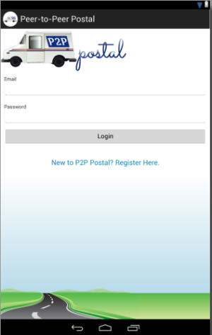 P2P Postal on Android