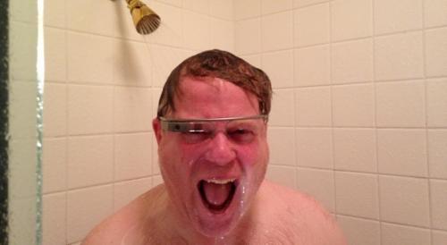 Robert Scoble rockin' his Google Glass