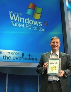 Microsoft was right about the MS Tablet in 2001. It was only wrong about the decade.