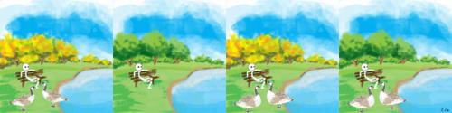 Elaine geese