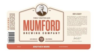 mumford brewing label