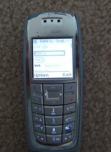 Nokia 3120 with Google