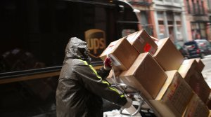 UPS's Quarterly Earnings Rise 48 Percent