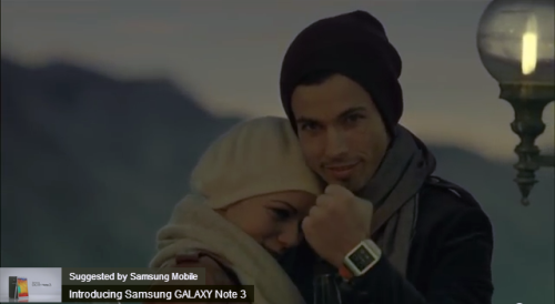 Samsung's smartwatch will totally get you laid.