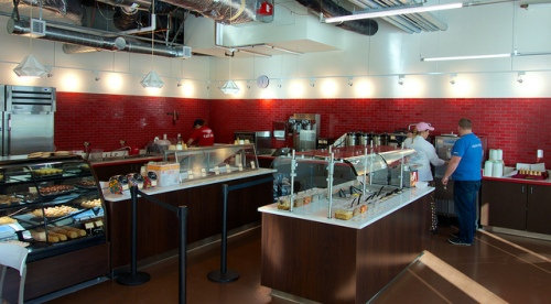 Facebook's Campus Ice Cream Shoppe