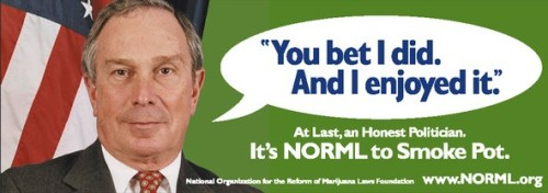 Former NYC Mayor Michael Bloomberg