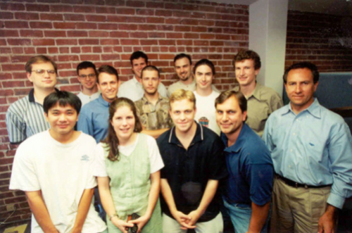 Max Levchin's college classmates and early Paypal team