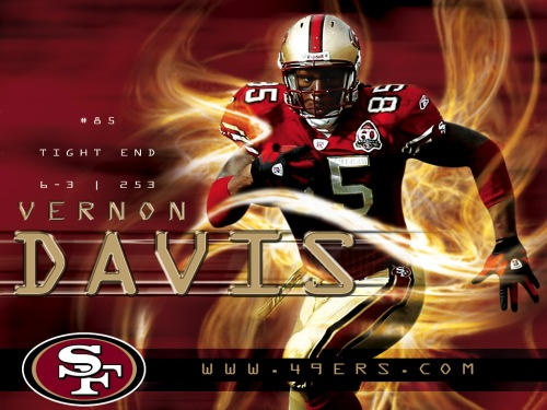 Vernon-Davis-San-Francisco-49ers-Player-Wallpapers