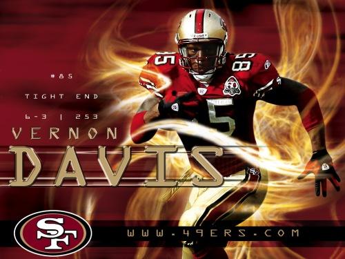 Vernon-Davis-San-Francisco-49ers-Player-Wallpapers