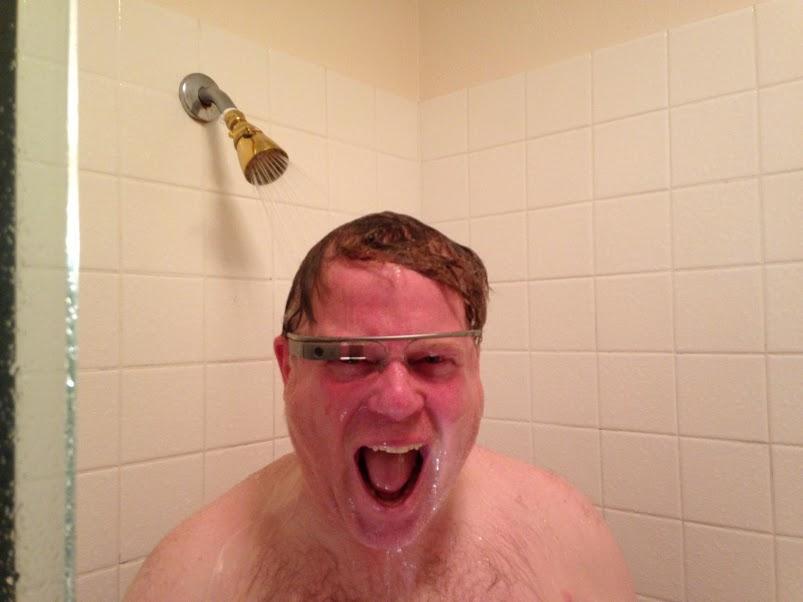 scoble-shower-google-glass